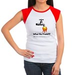 What The Frack Women's Cap Sleeve T-Shirt