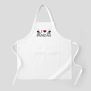 I Heart Pandas Apron