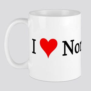 I Love Norwegians Mug