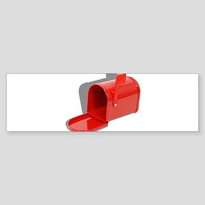 Mailbox Open Sticker (Bumper)