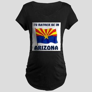 VISIT ARIZONA Maternity Dark T-Shirt
