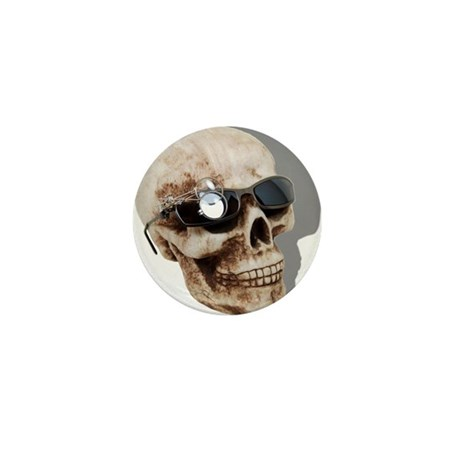 Optical Skull Mini Button (10 pack)