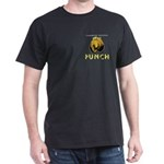 ChoHo PUNCH on pocket Black T-Shirt