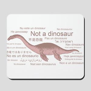 Plesiosaur (not a dinosaur) Mousepad