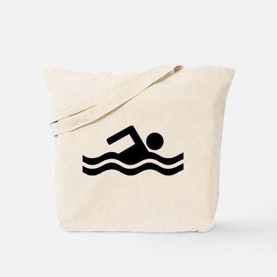 Swimming Tote Bag