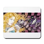 Alice & Cheshire (light) Mousepad