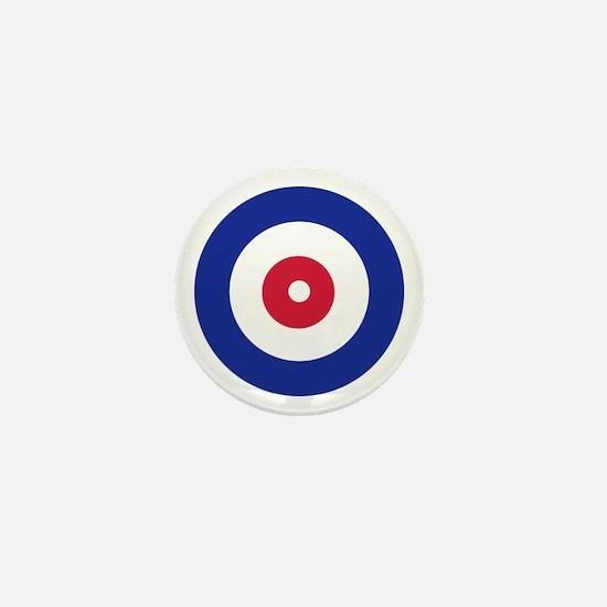 Curling Mini Button
