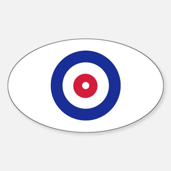 Curling Sticker (Oval)