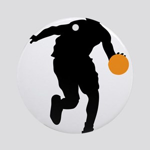 BASKETBALL *74* Ornament (Round)