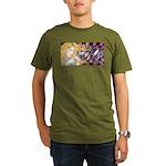 Alice & Cheshire (light) Organic Men's T-Shirt