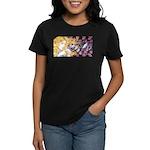 Alice & Cheshire (light) Women's Dark T-Shirt