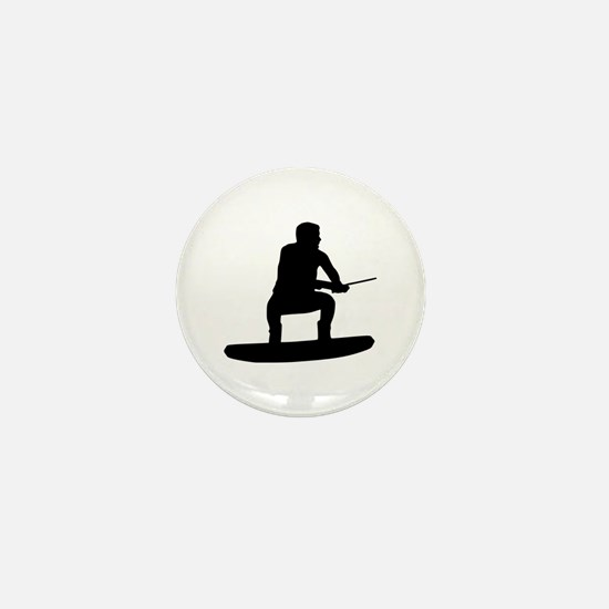 Wakeboarding Mini Button