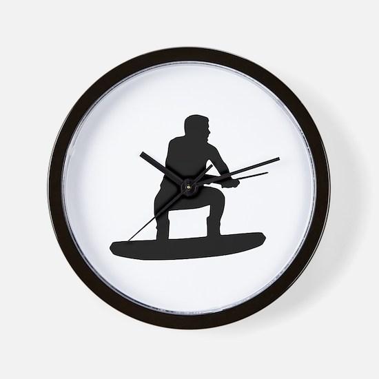 Wakeboarding Wall Clock