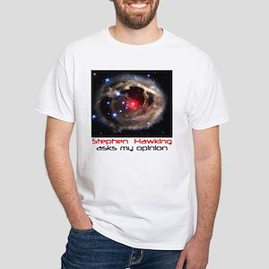 Hawking White T-Shirt