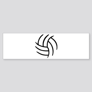 Volleyball Sticker (Bumper)