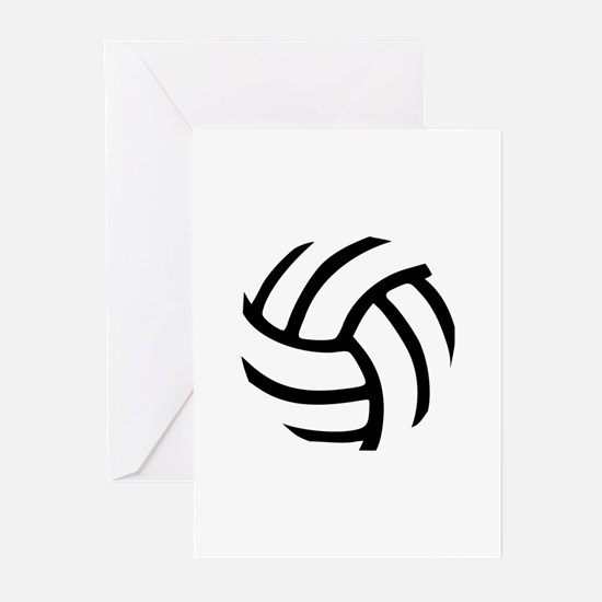 Volleyball Greeting Cards (Pk of 10)