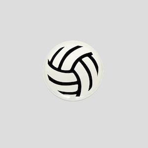 Volleyball Mini Button