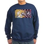 Alice & Cheshire (light) Sweatshirt (dark)