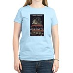 """Nation Of Sheep"" Women's Light T-Sh"