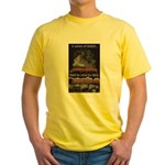 """Nation Of Sheep"" Yellow T-Shirt"