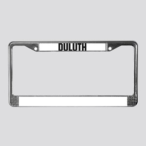 Duluth, Minnesota License Plate Frame