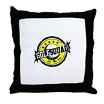 GOLFSQUAD2011 Throw Pillow