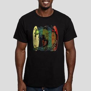 Surf's Up Men's Fitted T-Shirt (dark)