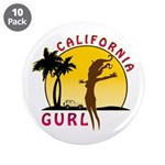 "California Gurl 3.5"" Button (10 pack)"