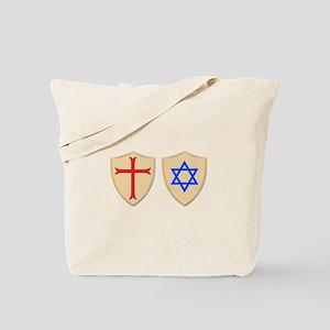 Zionist Crusader Tote Bag