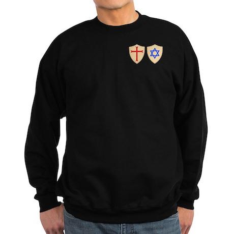 Zionist Crusader Sweatshirt (dark)