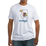 ILY Illinois Fitted T-Shirt