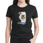 ILY Illinois Women's Dark T-Shirt