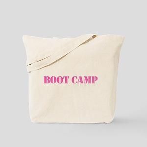 Boot Camp Pink Tote Bag
