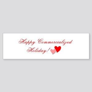 Commercialized Holiday Bumper Sticker