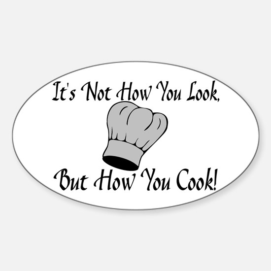 How You Cook Sticker (Oval)