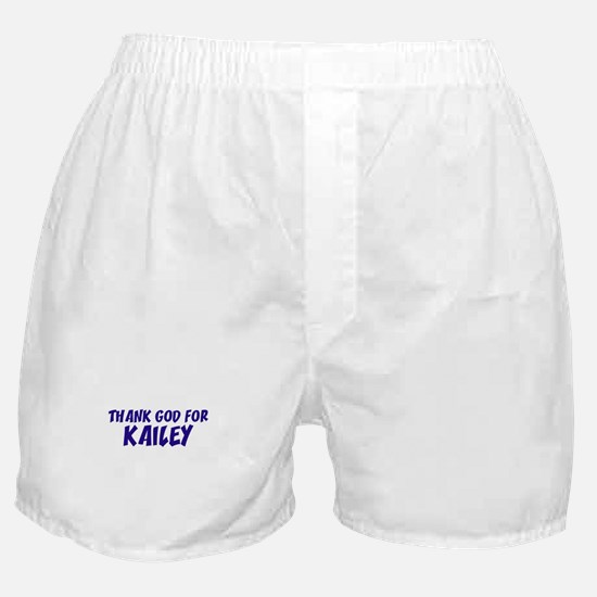 Thank God For Kailey Boxer Shorts
