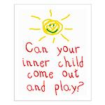 Inner Child Small Poster