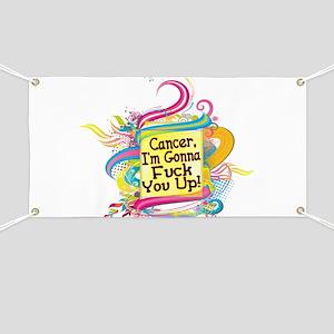 F Up Cancer Banner