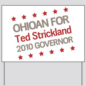Ohioan for Strickland Yard Sign