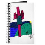 Golok (Glk) Buday Cactus Cross Journal