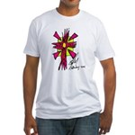 Solar or Firey Cross Fitted T-Shirt