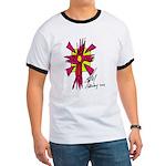 Artsy Solar Cross Ringer T