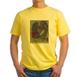 Warrior's Kidney Pastel Work Yellow T-Shirt