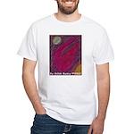 Universal Flare Pastel Work White T-Shirt