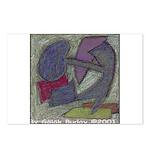 Warrior Kidney Pastel Work Postcards(Package of 8)