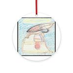 Papalish Pastel Work Ornament (Round)