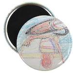 Papalish Pastel Work Magnet