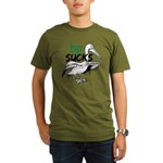 Bp Sucks Organic Men's T-Shirt (dark)