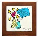 Romance Series  Framed Tile