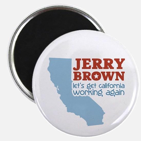 Brown California Magnet